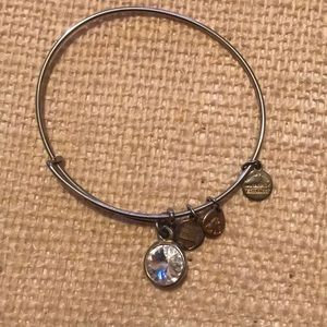 Alex and Ani. Gold, April birthstone.